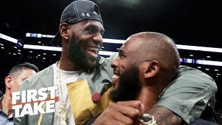 Chris Paul is a 'perfect fit' with LeBron & Anthony Davis on the Lakers – Max Kellerman | First Take