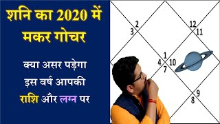 Saturn transit 2020 | Saturn in Capricorn (In Hindi)