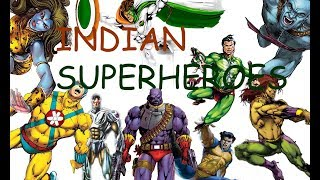 Famous Indian Comics || Superheroes || Part One