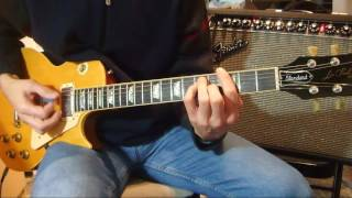 Hot Blooded - Foreigner (guitar cover)