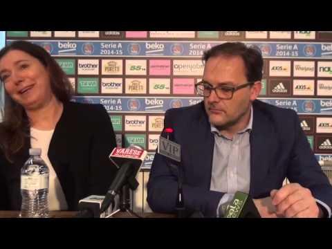 Conferenza stampa Stefano Coppa e Monica Salvestrin