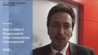 Youtube: Intervista a Marco Alberti (Enel) - Forum Economy Roadshow Roma