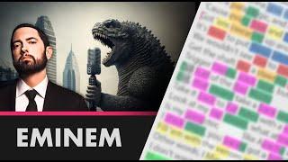 Eminem on Godzilla - 3rd Verse - Lyrics, Rhymes Highlighted (119)