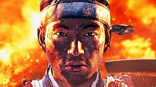 GHOST OF TSUSHIMA Trailer (2019) PS4