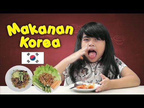 KATA BOCAH  tentang Kimchi, Dak Galbi, Japchae, Jajangmyeon, Topokki (Makanan Korea)   #9
