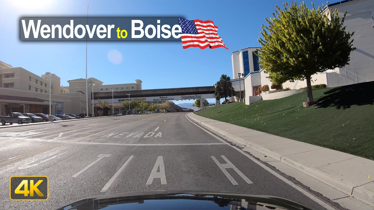 USA Road Trip – Wendover UT to Boise ID in 4K