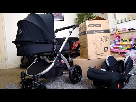 Ickle Bubba Stomp V3 Travel System Unboxing and Assembly | Best Stroller Baby Pram Pushchair Review