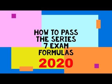 Series 7 exam prep (formulas) - YouTube