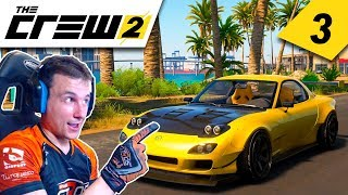 THE CREW 2 #3 | CARRERA EN LLUVIA Y DRIFT BENEFICO | GTro_stradivar Gameplay Español