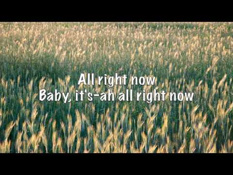 Free - All Right Now (with Lyrics)