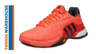 Adidas Barricade Boost Men's Shoes video