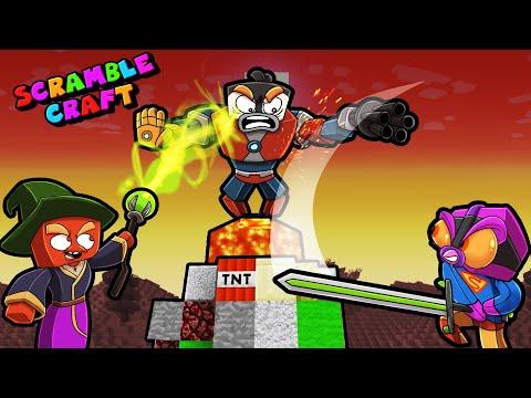 Scramble Craft BATTLE ROYALE with 100 Mods! (Minecraft)