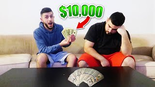 I gave my best friend $10,000 to do THIS...