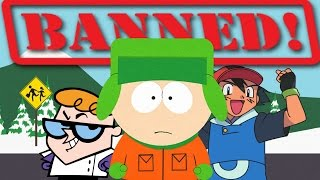 5 Shocking BANNED Episodes of Cartoons