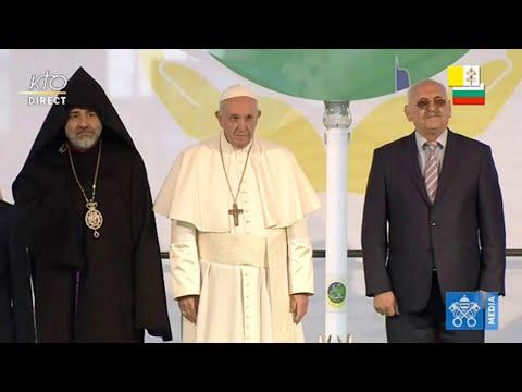 Prière pour la paix présidée par le Pape François