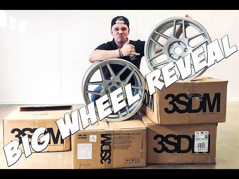 Unboxing My new E36 3SDM Wheels *BIG WHEEL REVEAL*