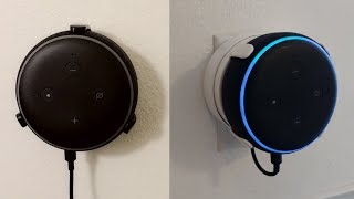 Best Mounts For @Amazon Echo Dot 3rd Gen With No Holes Or Drilling   By TotalMounts