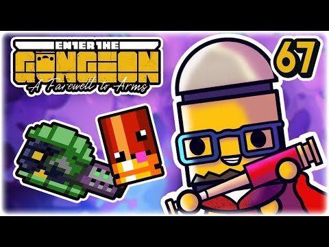 Scattershot Drills | Part 67 | Let's Play: Enter the Gungeon: Farewell to Arms | PC HD
