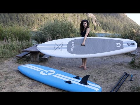 Inflatable SUP Review: 11′ White iRocker Paddle Board