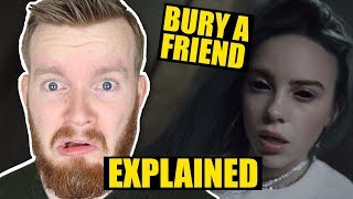 """bury a friend"" by Billie Eilish Deeper Meaning 