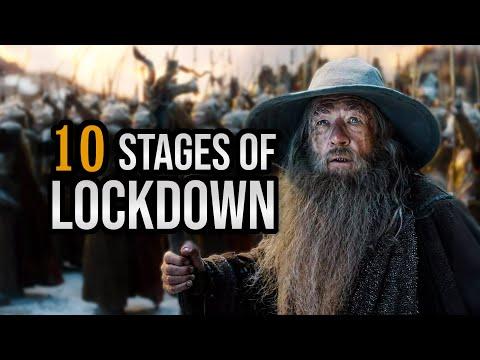 10 fází Covidu s Gandalfem