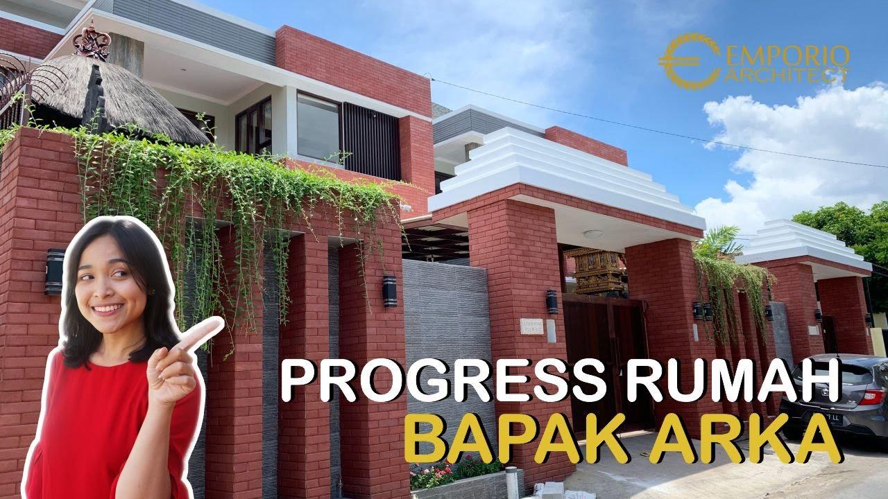 Video Progress Pembangunan Rumah Bapak Arka di Denpasar, Bali