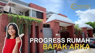 Video Construction Progress of Mr. Arka Private House - Denpasar, Bali