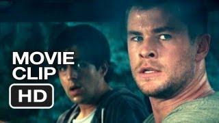 Red Dawn Movie CLIP - Car Crash (2012) - Chris Hemsworth, Josh Peck Movie HD
