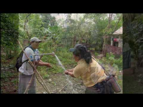 Video voortgang waterleidingproject El Corozal