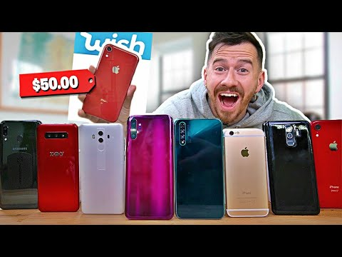 I Bought All The Smartphones On Wish...