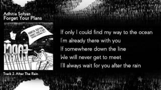 """Adhitia Sofyan """"Forget Your Plans"""" full album + lyric"""