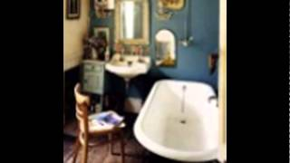 bohemian-bathroom-decor-bathtub-for-small-bathroom-space