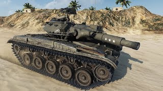 World of Tanks T49 (Milkys Tank Skin) 7854 DMG - Airfield