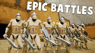 Formata MASSIVE ARMIES!  EPIC BATTLES & Sieges - FORMATA Gameplay Part 1