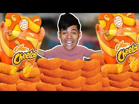 10,000 Calories of Mac N' Cheetos in 10 Min Challenge!