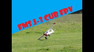 Scale Cub FPV Cockpit dog fights!