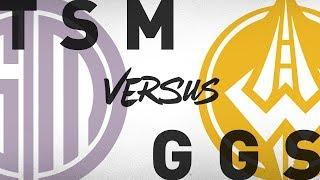 TSM vs. GGS - Week 7 Day 1   NA LCS Summer Split   TSM vs. Golden Guardians (2018)
