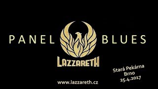 Video LAZZARETH - Panel blues [Official Live Video]
