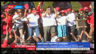 Wagombezi wanne wa ugavana katika kaunti ya Kiambu wapanga kumbwaga gavana William Kabogo