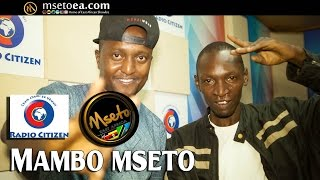 The Return Of Hip Hop Star KITU SEWER Live On Mambo Mseto With Mzazi Willy Tuva