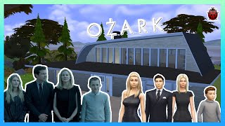 I built the Byrde house from Ozark in The Sims 4 🔫💸 | realturnedsims #nocc #ozark