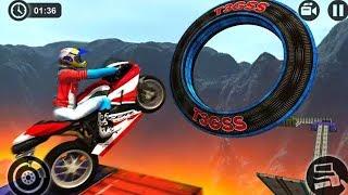 FINAL LEVEL OF IMPOSSIBLE MOTOR BIKE TRACKS 3D - Motor Cycle Games - Dirt Bike Games - Racing Games