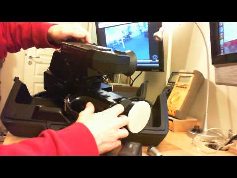 Vintage video cameras: Sony HVC-3000S, 4000S and Grundig Super color FAC 1900 FR