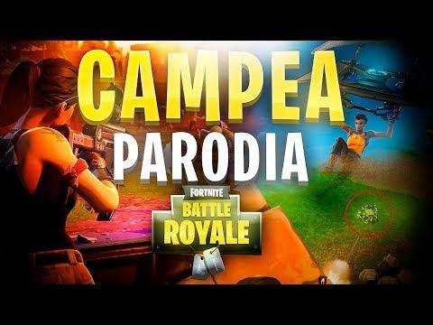 """CAMPEA"" - PARODIA FORTNITE: BATTLE ROYALE | @TehSinapsis"