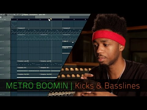 METRO BOOMIN | Kicks and Basslines | FL Studio | Razer Music