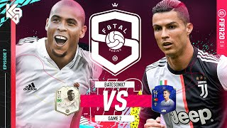 QUARTER FINALS! KAZOOIE VS BATESON87! MOMENTS RONALDO VS C. RONALDO F8TAL | FIFA 20 Ultimate Team #7
