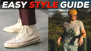 HOW TO STYLE CONVERSE   Parker York Smith