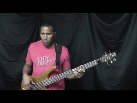 """Magic!-""""Rude"""" Official Bass Cover by Darius Pope"""