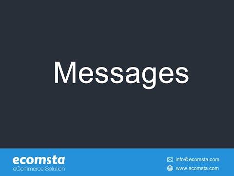 Messages - eCommerce Script