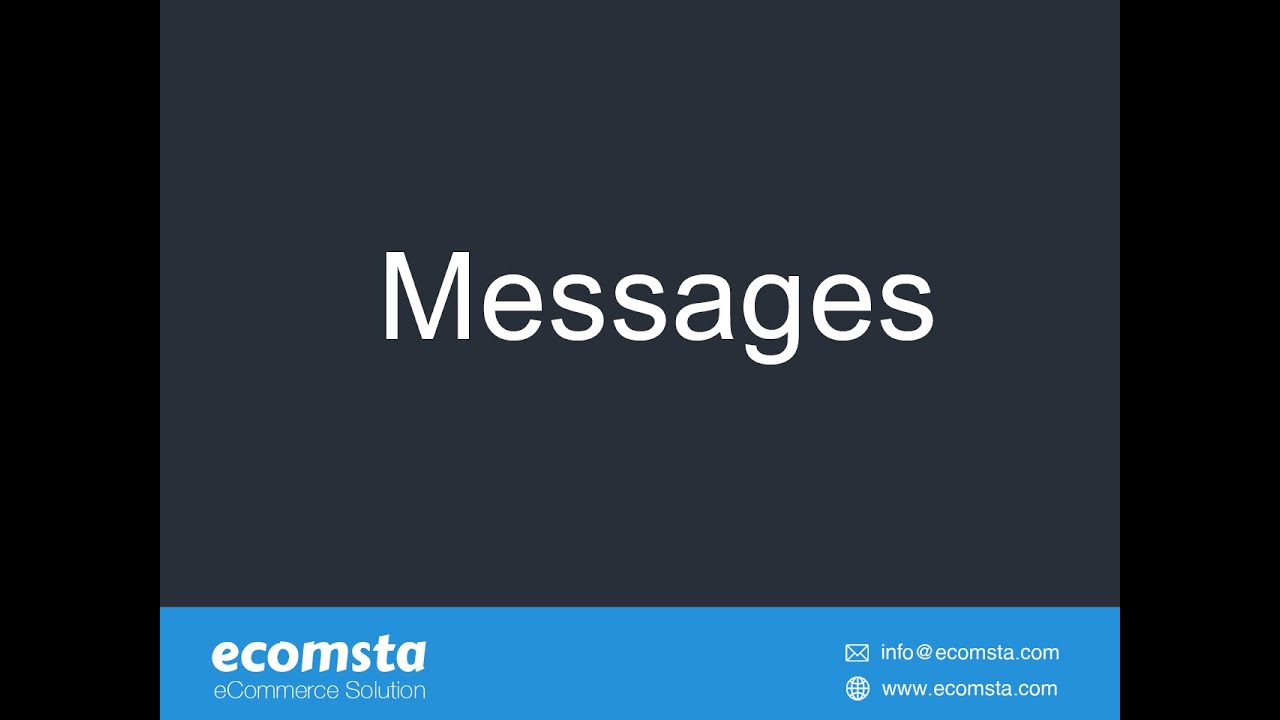 How to send bulk SMSs to your users, visitors, and subscribers in eComsta?